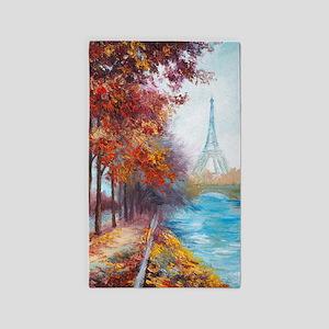 Paris Painting Area Rug