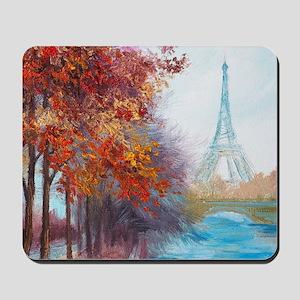 Paris Painting Mousepad