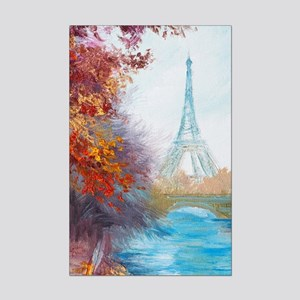 Paris Painting Mini Poster Print