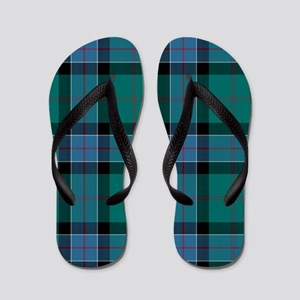 Tartan-Sinclair hunting Flip Flops