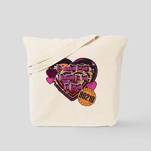 90210 Be in Love Tote Bag