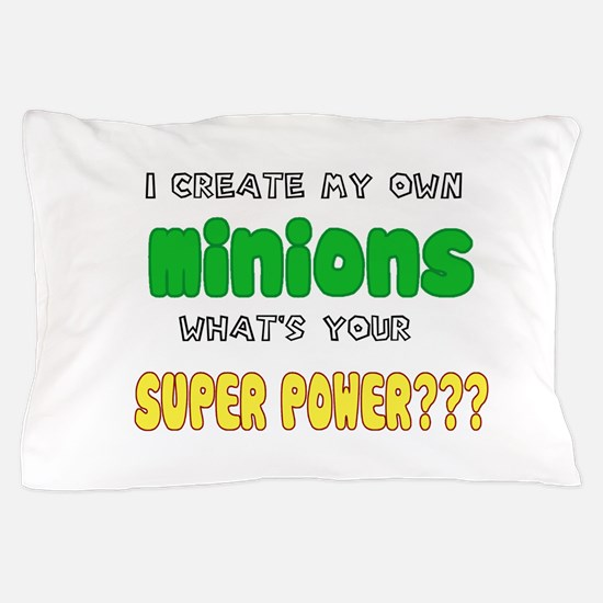 Minion Super Power Pillow Case