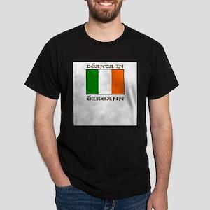 Deanta in Eireann Ash Grey T-Shirt