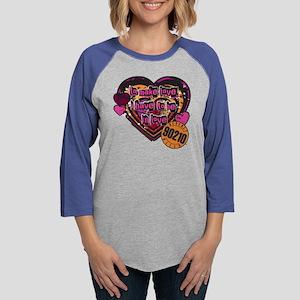 90210 Be in Love Womens Baseball Tee