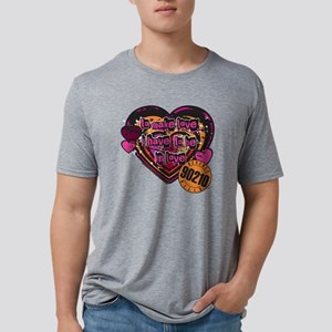 90210 Be in Love Mens Tri-blend T-Shirt