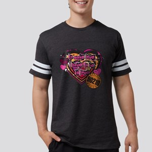 90210 Be in Love Mens Football Shirt
