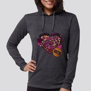 90210 Be in Love Womens Hooded Shirt