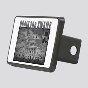 Drain the Swamp Rectangular Hitch Cover
