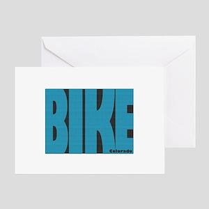Bike Colorado Greeting Card