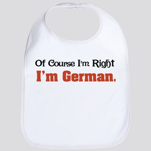Im German Baby Bib