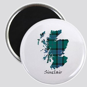 Map-Sinclair hunting Magnet