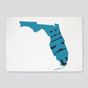 Bike Florida 5'x7'Area Rug
