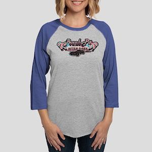 90210 Peach Pit After Dark Womens Baseball Tee