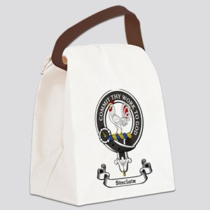 Badge - Sinclair Canvas Lunch Bag
