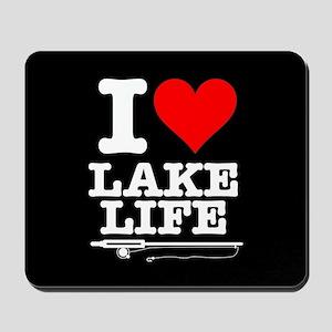 I Heart Lake Life Mousepad