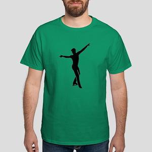 Figure skating man Dark T-Shirt