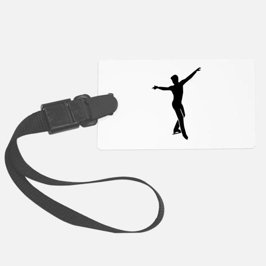 Figure skating man Luggage Tag