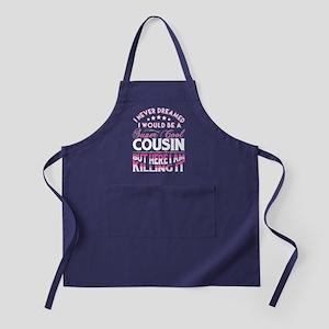 Super Cool Cousin... Apron (dark)