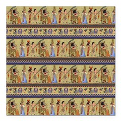 Painted Egyptian Hieroglyphics Square Car Magnet 3