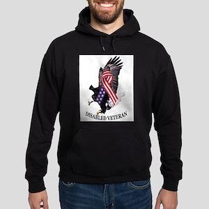 Disabled Veteran Eagle and Ribbon Sweatshirt