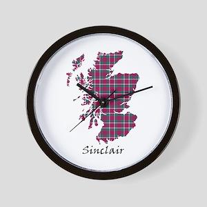 Map - Sinclair Wall Clock