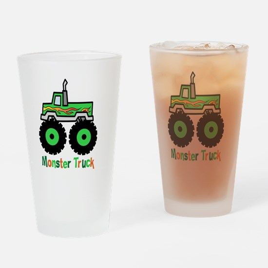 Cool Monster truck childrens Drinking Glass