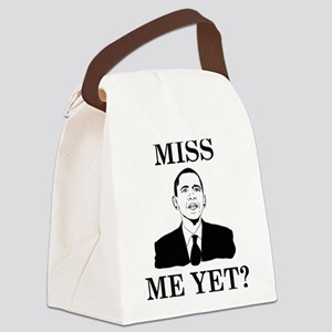 Miss Me Yet? Canvas Lunch Bag