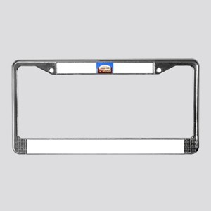 Coober Pedy sign, Outback Aust License Plate Frame