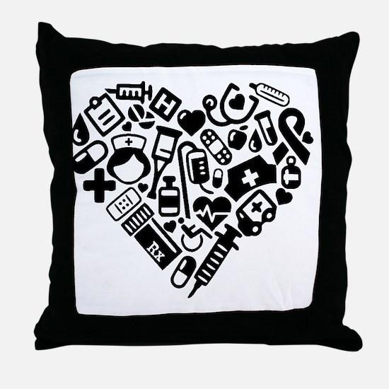 Cool Nursing Throw Pillow