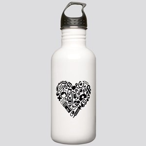 Nurse Heart Stainless Water Bottle 1.0L