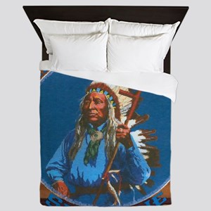 Chief Washakie Shoshone Queen Duvet
