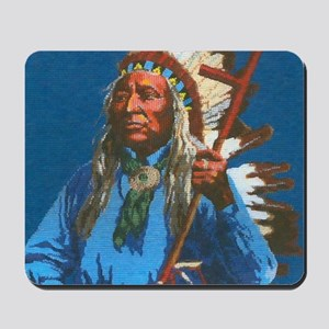 Chief Washakie Shoshone Mousepad