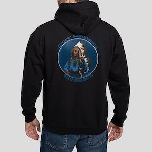 Chief Washakie Shoshone Hoodie (dark)