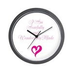 I am fearfully and wonderfully made Wall Clock