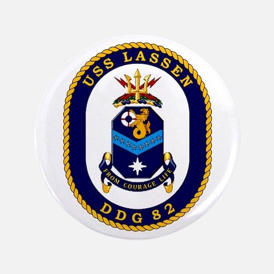"""USS Lassen DDG 82 3.5"""" Button"""