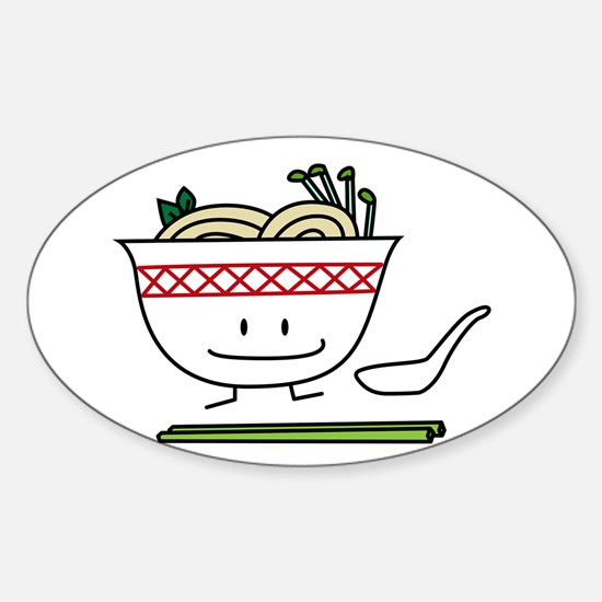 Pho Bowl Decal