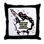 fourth-dimension Throw Pillow