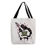 fourth-dimension Polyester Tote Bag