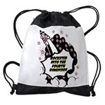 fourth-dimension Drawstring Bag