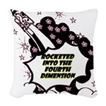 fourth-dimension Woven Throw Pillow