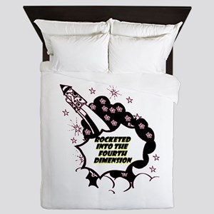 fourth-dimension Queen Duvet