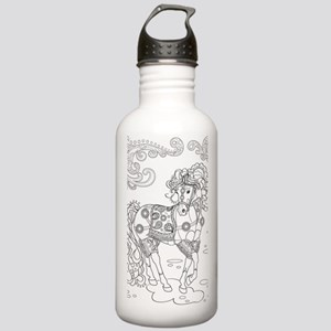 Prancing Paisley Horse Stainless Water Bottle 1.0l