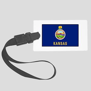 Kansas Large Luggage Tag