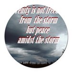 serenity-storm Round Car Magnet