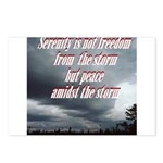 serenity-storm Postcards (Package of 8)