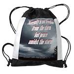 serenity-storm Drawstring Bag