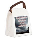 serenity-storm Canvas Lunch Bag