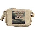 serenity-storm Messenger Bag