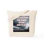 serenity-storm Tote Bag