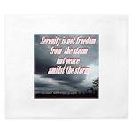 serenity-storm King Duvet